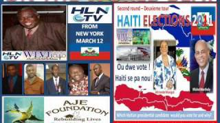 ON THE WORLD BEAT WLVJ HAITI  ELECTION 2011 ON HAITI LIVE NETWORK.wmv
