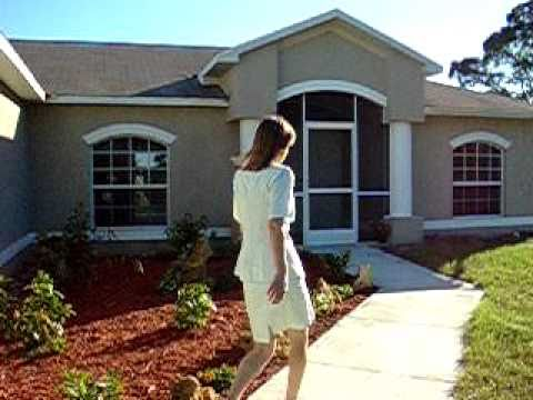 Large florida house for sale 3 2 2 2223 sqft 1 4 ac lot youtube - Houses made concrete blocks ...