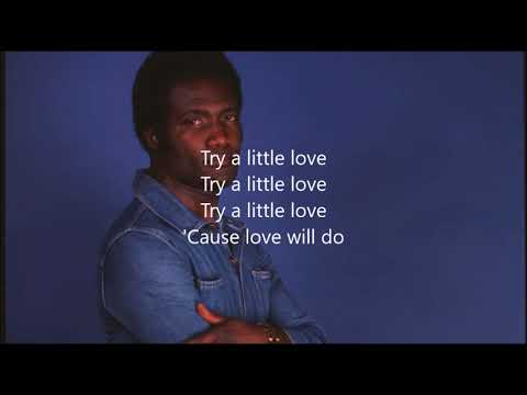 Oscar Harris Try a Little Love Karaoke