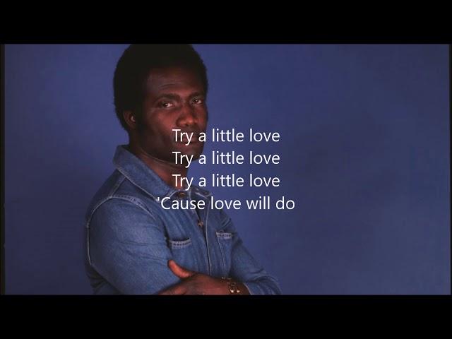 Oscar Harris Try a Little Love Karaoke