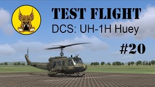 Test Flight - DCS: UH-1H Huey #20
