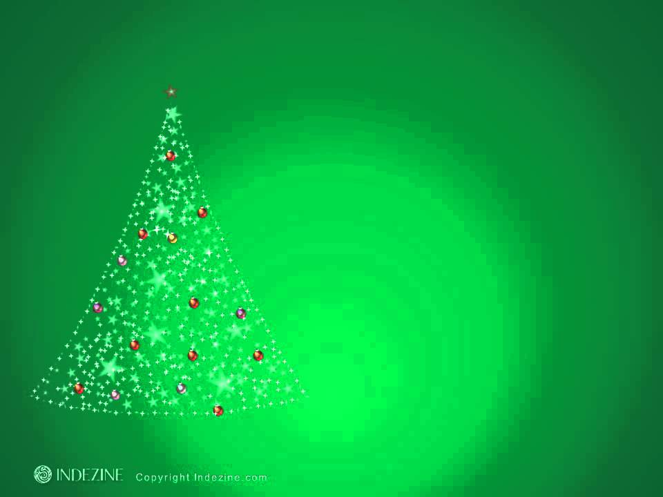 PowerPoint Animated Slide Christmas Tree - YouTube