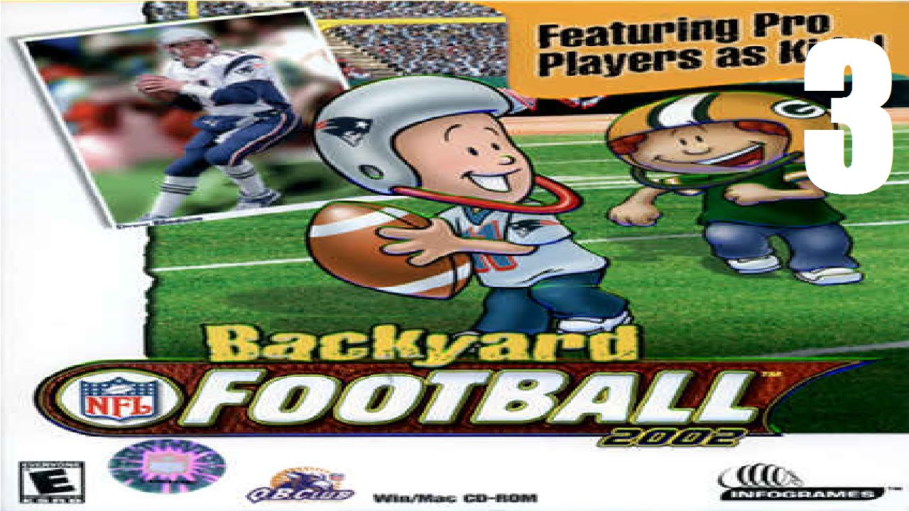 road to the super bowl backyard football 2002 ep 3 youtube