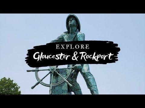Gloucester & Rockport Vlog   Hammond Castle, Fisherman's Memorial, Motif #1