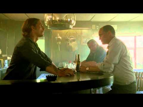 True Detective Bar Scene - Marty and Rust Talk In Doumain's Domain