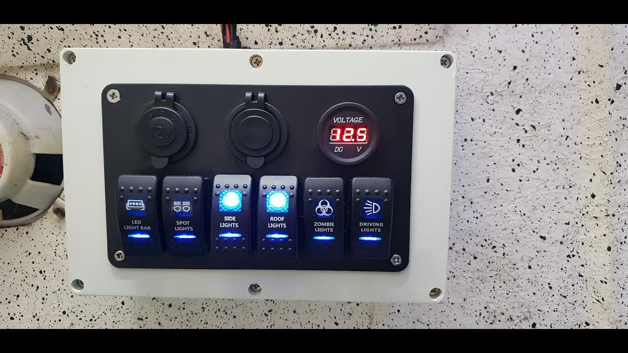 Wiring Switch Panel In Boat