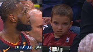 Young LeBron James Fan Wants To Cry While Cavaliers Lose To Pacers!