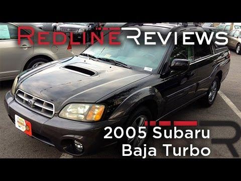 2005 Subaru Baja Turbo Walkaround, Start Up, Review, Test Drive
