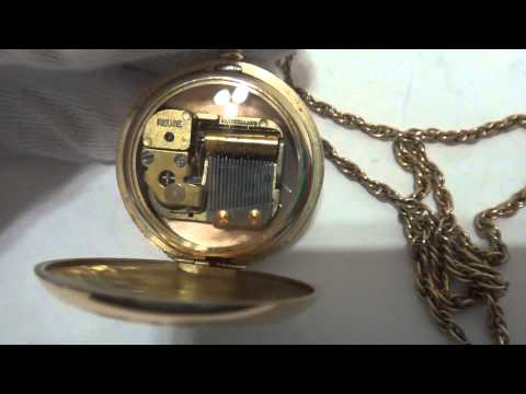 Reuge musical pocket watch charm
