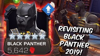 5 Star Black Panther Rank Up, Abilities & Gameplay 2019 - Marvel Contest of Champions