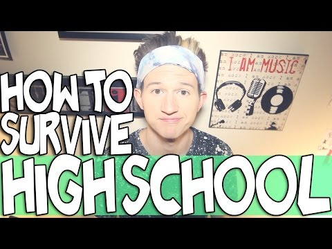 HOW TO SURVIVE HIGH SCHOOL | RICKY DILLON