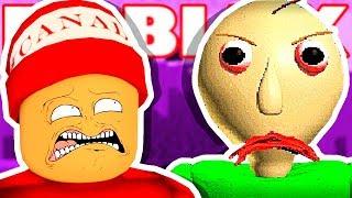 PROFESSOR BALDI HATES ME → Roblox funny moments #126 😂🎮 (Roblox Baldi's Basics)
