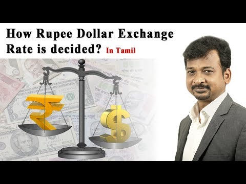 How Rupee Dollar Exchange  Rate Is Decided? | Israel Jebasingh | Tamil