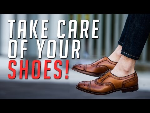 5 Shoe Care Items Every Guy Needs || Dress Shoes || Gent's Lounge