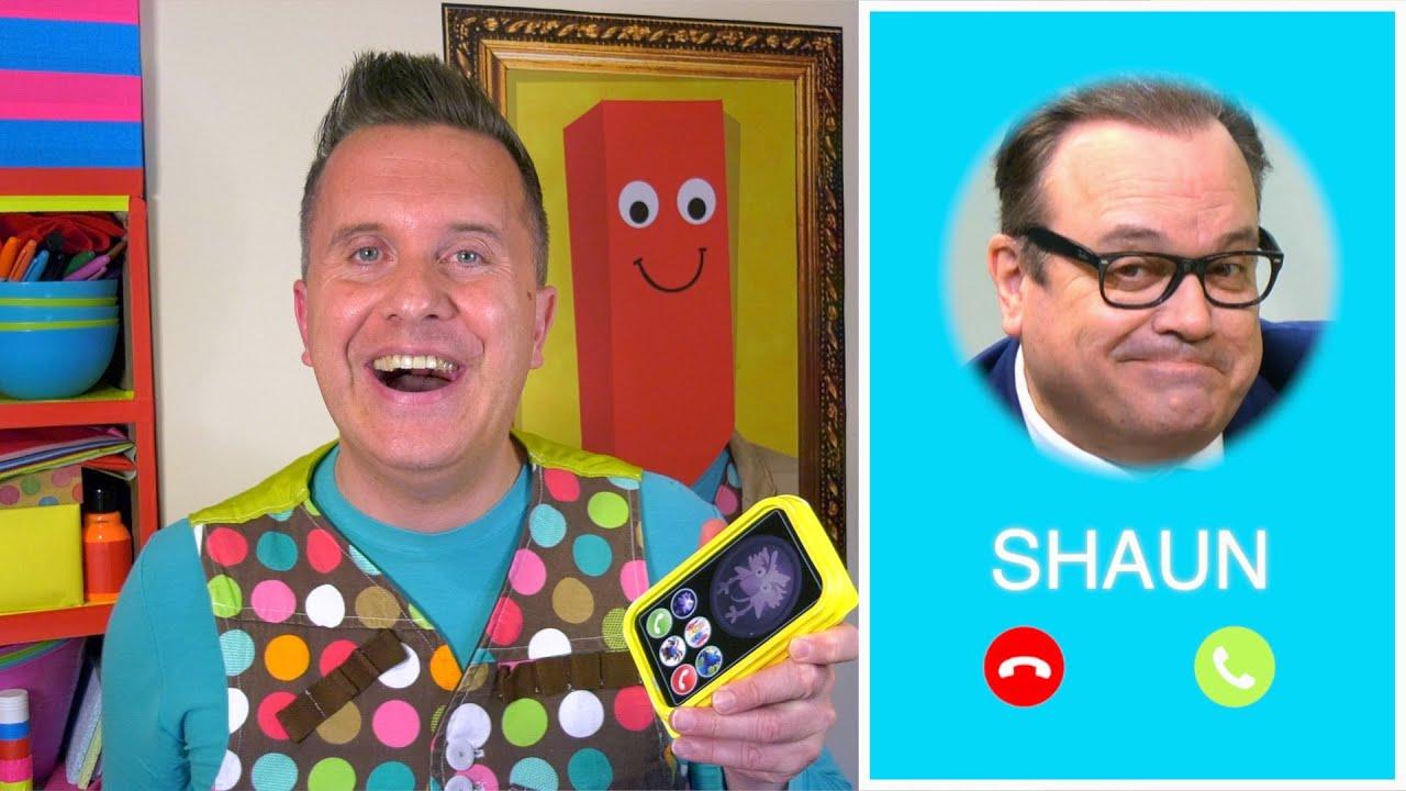 Shaun 🏡 Mister Maker At Home - Series 2, Episode 5