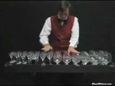 El cascanueces m sico de copas de cristal youtube for Copas de cristal