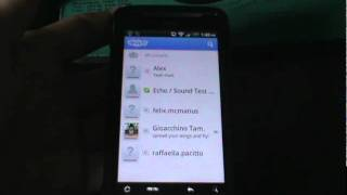 skype video on HTC desire Z, new 2.3 android update(hey guys this is just a quick video to show you that skype video calling is actually more developped on phones than whats written on there site, there are more ..., 2011-08-07T18:37:20.000Z)