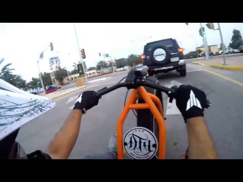 Drift Trike Gang [GoPro HERO4] درفت ترايك