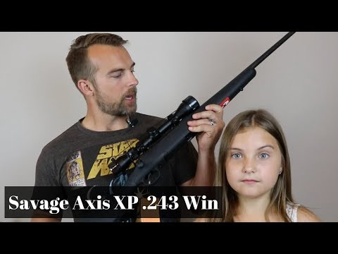 Savage Axis XP Youth .243 Win - Baby Girl's First Rifle