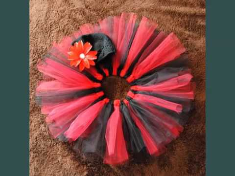 Tulle Hair Bows | Beautiful Diy Decor Tutu Picture Idea Collection Romance