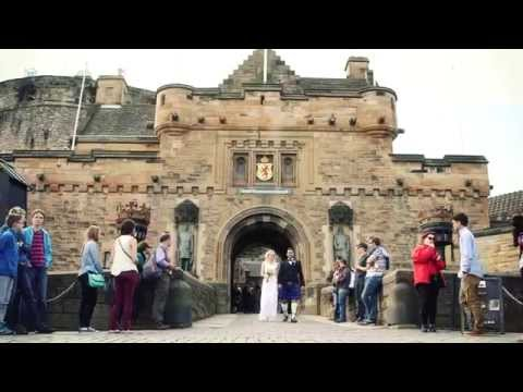 Lesley & Mario's Wedding Video Trailer - Edinburgh Castle