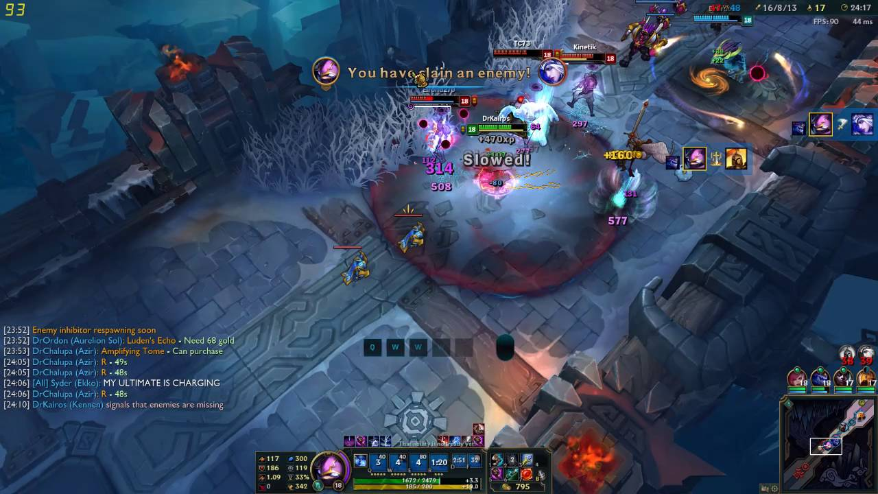 How To Kennen Ult In ARAM - YouTube