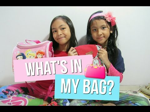 What's In My Bag? (BAHASA INDONESIA) | Purple Sisters💕
