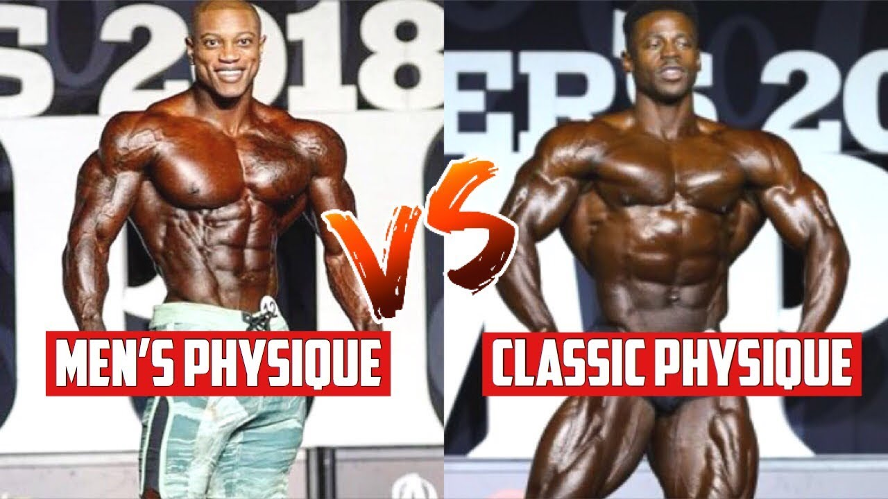 e2a2c4ade2db Is Mens Physique Too Big/Muscular vs Classic Physique - YouTube