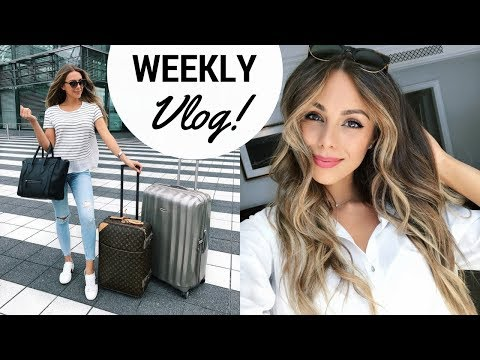 A WEEK IN MY LIFE | NEW YORK CITY, SHOOTING WITH COSMOPOLITAN | VLOG #4 | Annie Jaffrey
