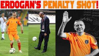 Football Stadium ka Turkey ke president ne penalty shot laga kar kiya inauguration
