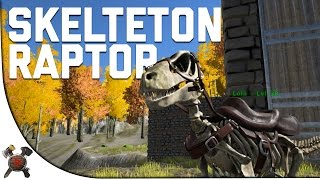 SKELETON RAPTOR/GIVEAWAY INFO? - Ark Survival Evolved (Part 31: Ark Fear Evolved)