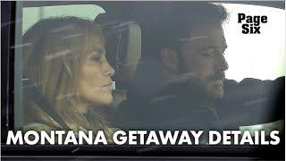 Inside Ben Affleck and Jennifer Lopez's Montana getaway   Page Six Celebrity News