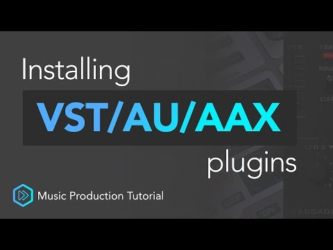 Ultimate Guide To Installing VST/AU/AAX Plugins