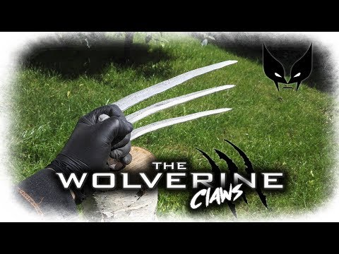 Aluminum Wolverine Claws From Car Parts