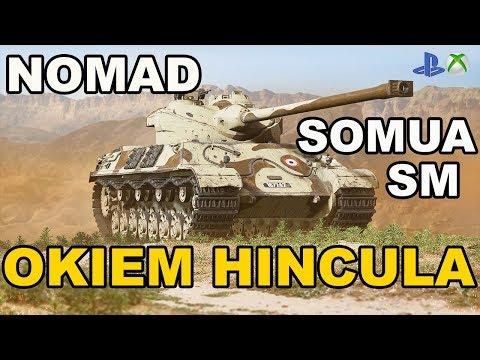 Somua SM Nomad Okiem Hincula World of Tanks Xbox One/Ps4 thumbnail