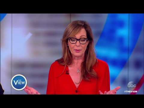 """Allison Janney Weighs In On Press Sec. Spicer, Addressing Real Life Issues On """"Mom"""" 