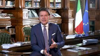 Roma, 13/09/2020 - il video messaggio del presidente consiglio giuseppe conte a studenti, genitori, insegnati, dirigenti scolastici e personale della scu...