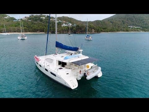 2012 Leopard 46 Crewed Yacht Version Walkthrough w/ Commentary [4K]