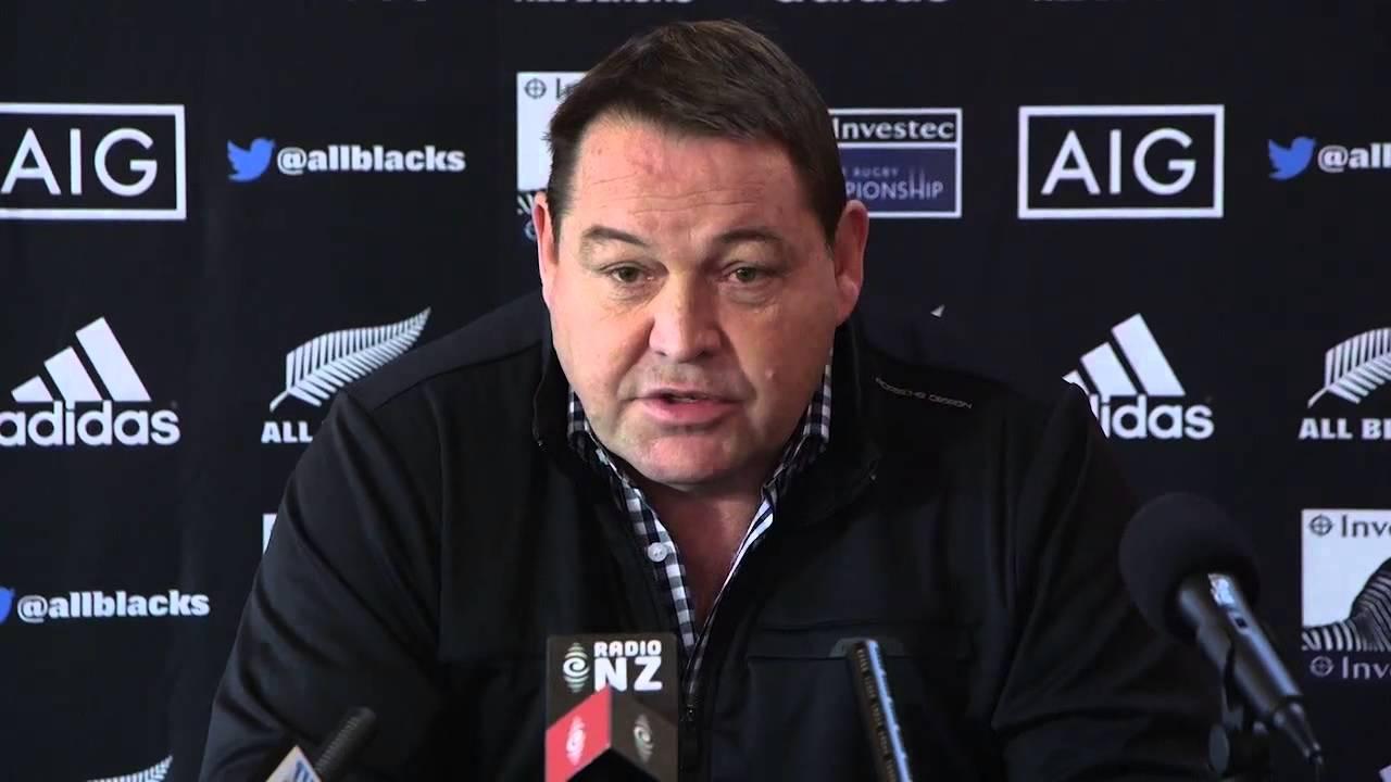 Steve Hansen-Nuova Zelanda: insieme fino al Mondiale 2019?