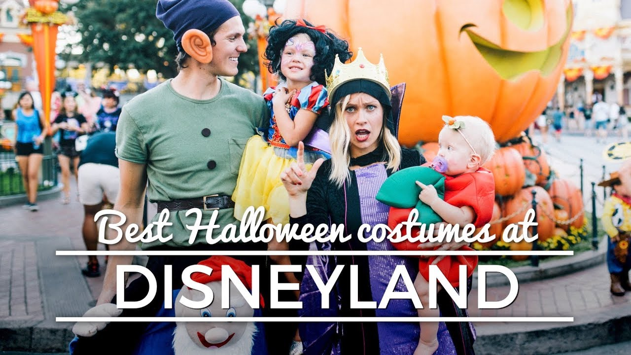 best halloween costumes at disneyland youtube