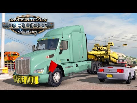 American Truck Simulator (Hard Economy) #20 - TROUBLE WITH THE RAILROAD | Tuesday Week 3