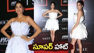 Jhanvi Kapoor Hot white Short Dress Spotted Today | janhvi kapoor latest photoshoot | Filmylooks