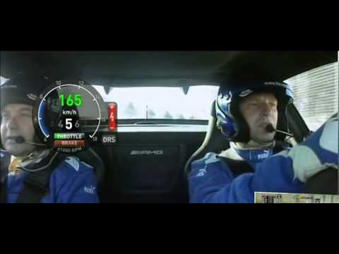 F1 2012 Safety Car Onboard with Telemetry