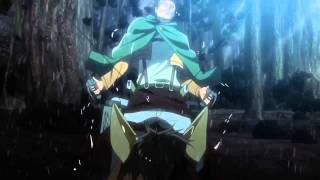 """Video Attack on Titan English Dub Official Clip """"FOR MY BROTHERS, FOR HUMANITY!"""" download MP3, 3GP, MP4, WEBM, AVI, FLV November 2017"""