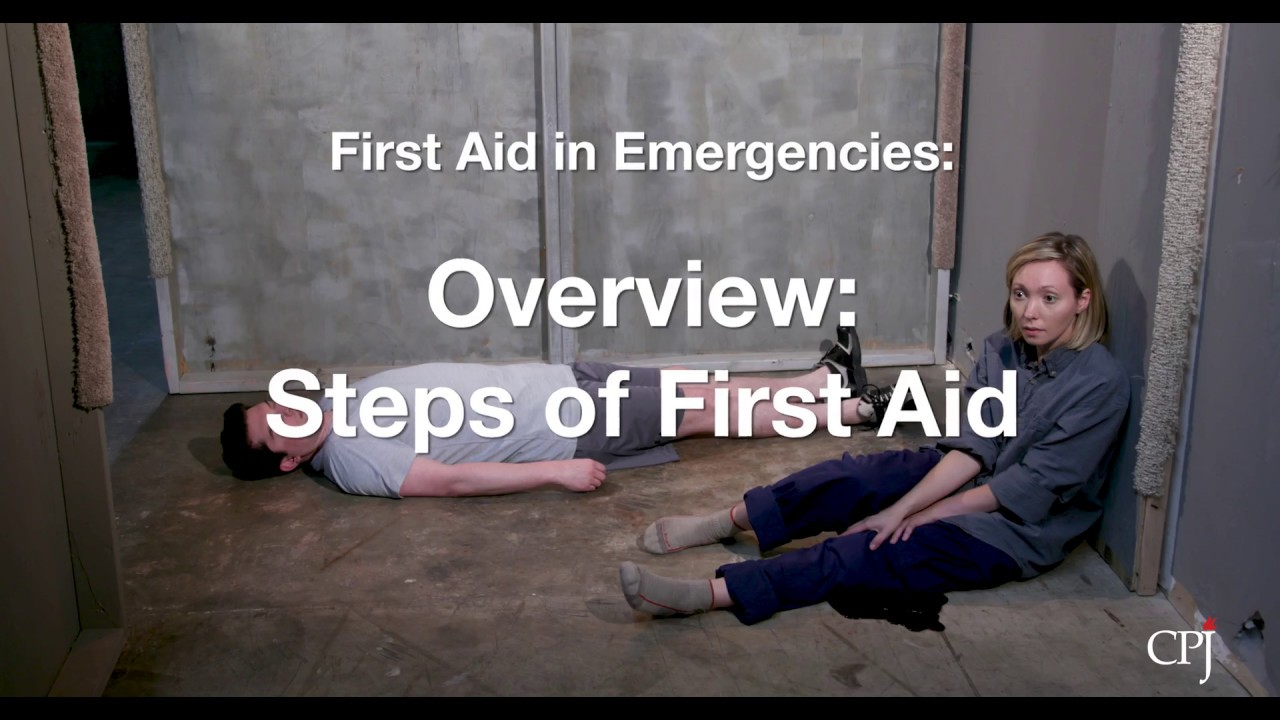 1  Overview: Steps of First Aid
