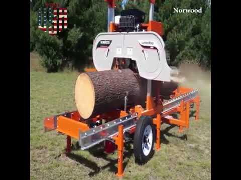 Band Sawmill Norwood Lm29 13hp Honda Gx Ohv