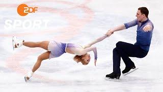 Die WM-Gold-Kür von Aljona Savchenko und Bruno Massot I Eiskunstlauf WM 2018 Mailand - ZDF
