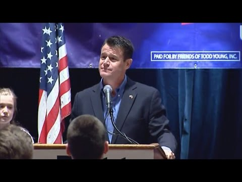 GOP US Rep. Todd Young wins Indiana Senate race