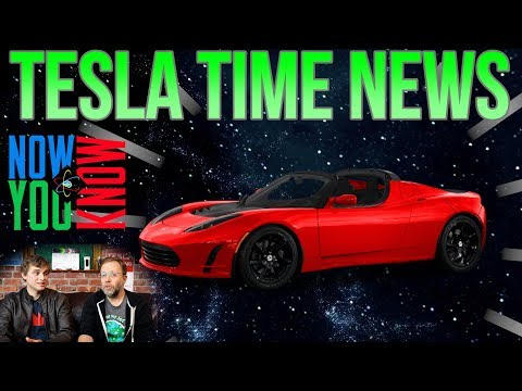 Tesla Time News - Roadsters in Space?