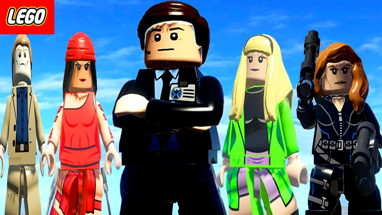 Lego Marvel Super Heroes - Agent Coulson Vs Elektra Vs ...